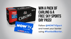 #FootballBanter with NOW TV and Carling