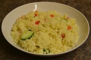 5 Minute Couscous Salad