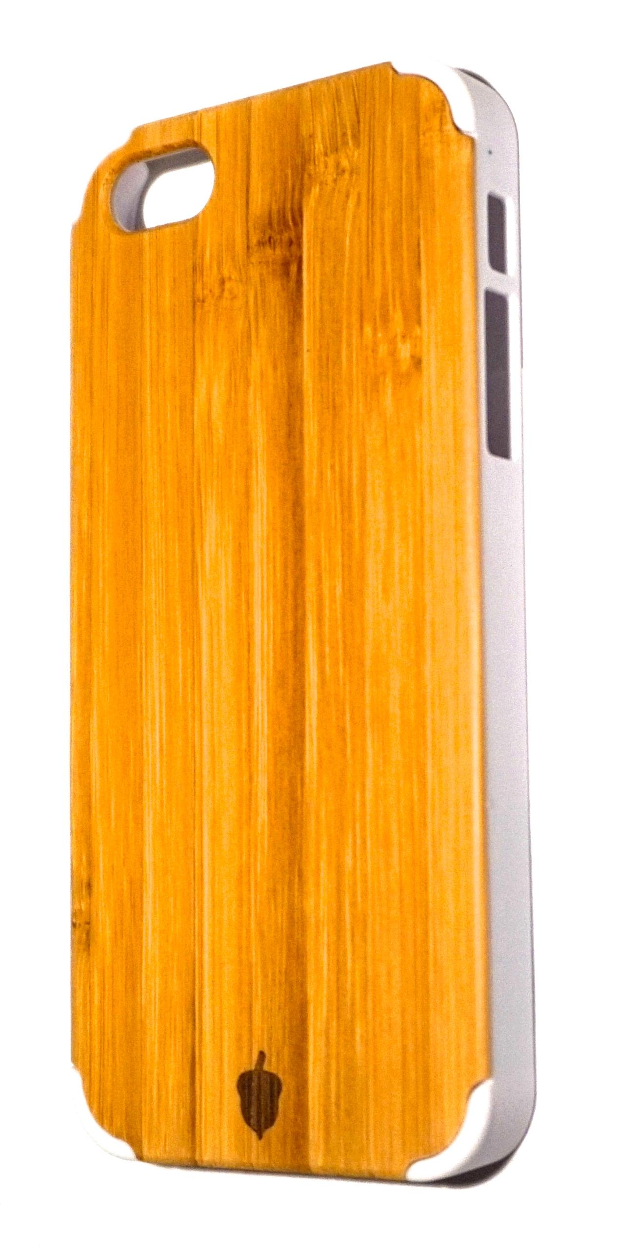 Acorn Audio white iPhone 5 cover