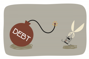Five steps to get out of debt