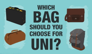 Which bag should you choose for uni? [Infographic]