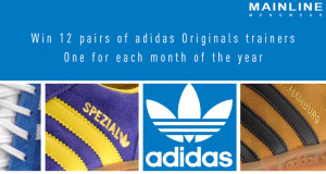 Win 12 pairs of men's adidas Originals!