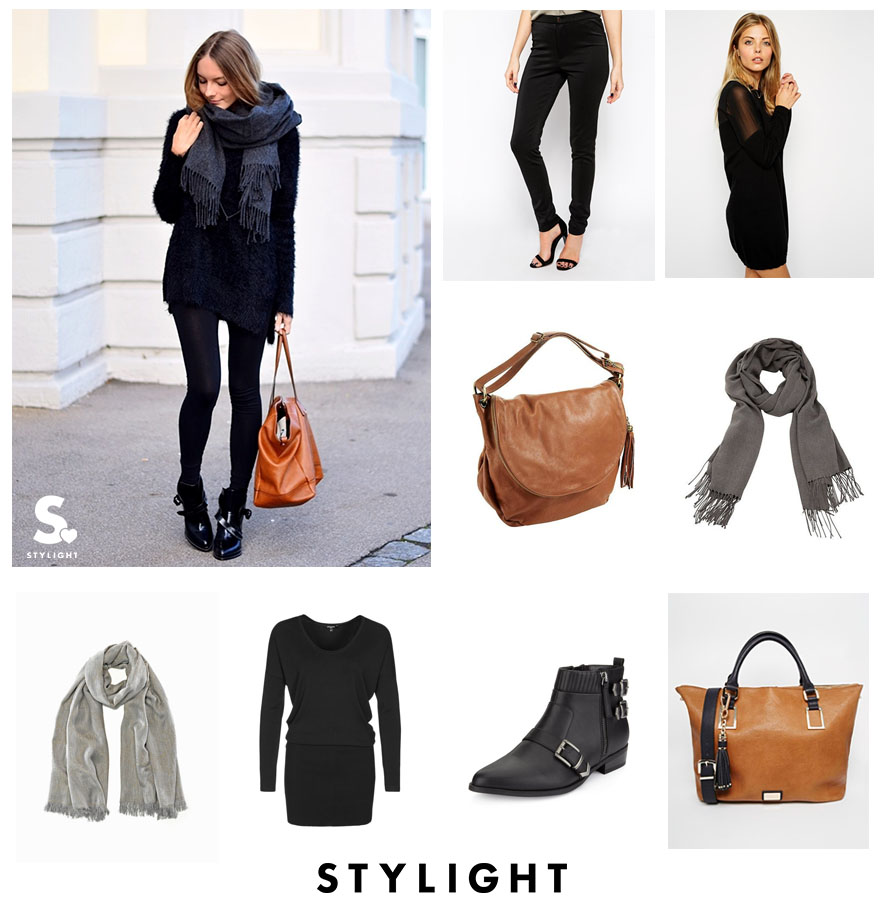 STYLIGHT XXL scarves look 3