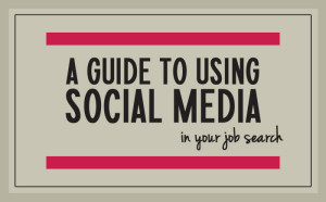 Land a job through social media [infographic]