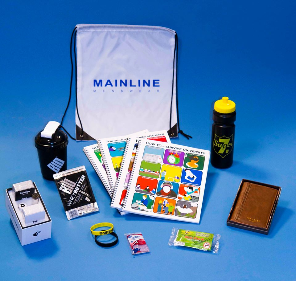 Mainline Menswear student essentials pack