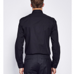 The Idle Man Smart Shirt in Black