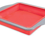 Silicone Cake Pan with Carbon Steel Rim