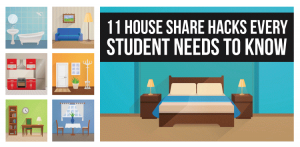 11 house share hacks every student needs to know [infographic]