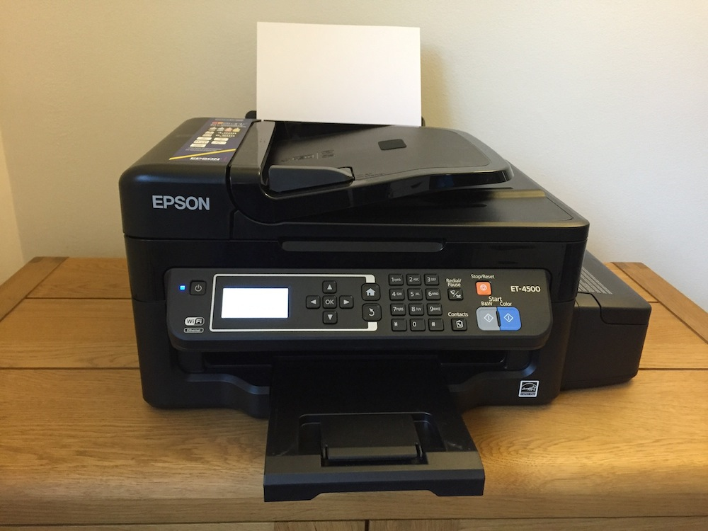 The Epson ET-4500 printer