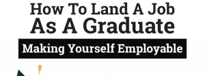 How to land a job as a graduate [infographic]