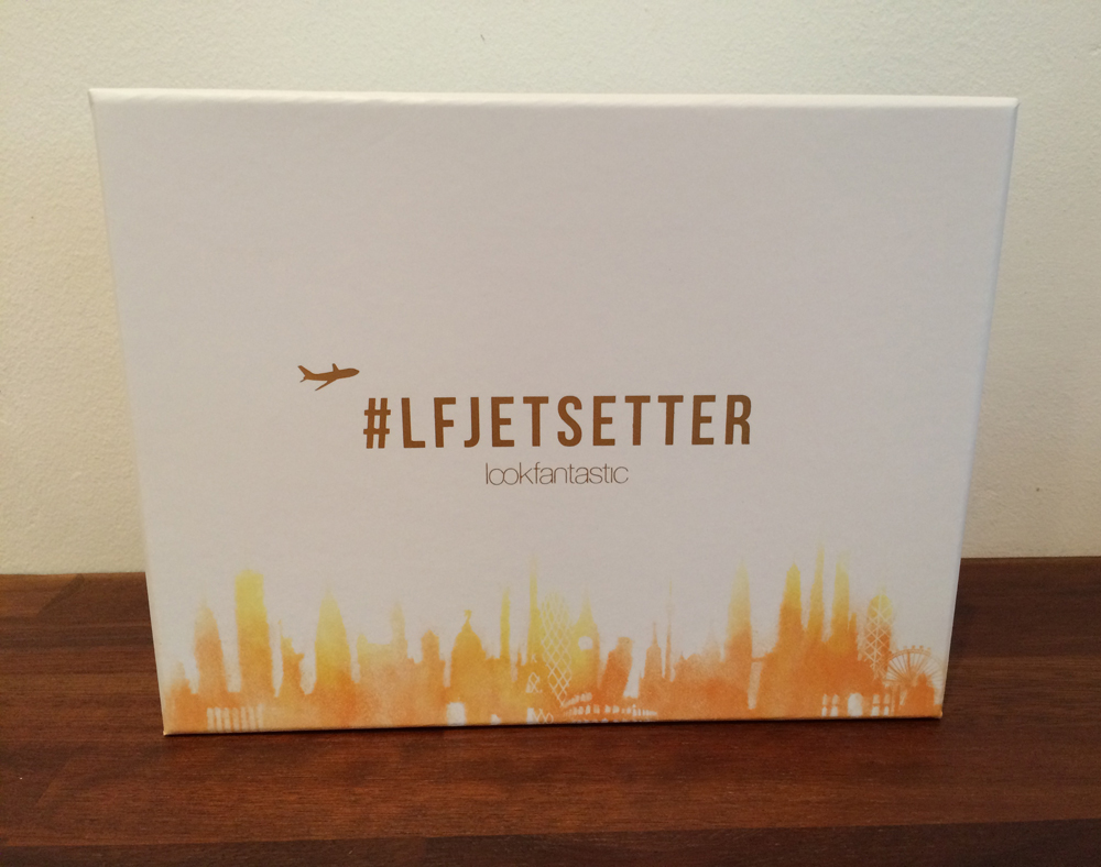 #LFJETSETTER beauty box