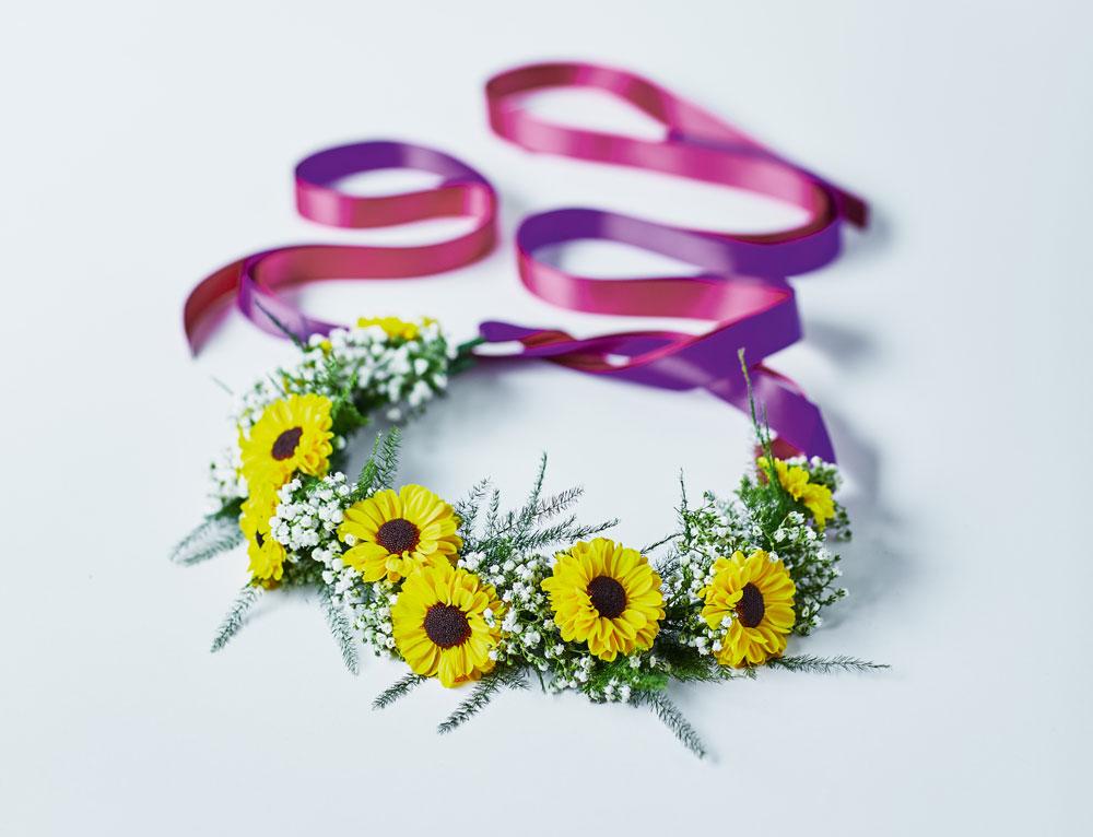 Waitrose's Santini Flower Crown