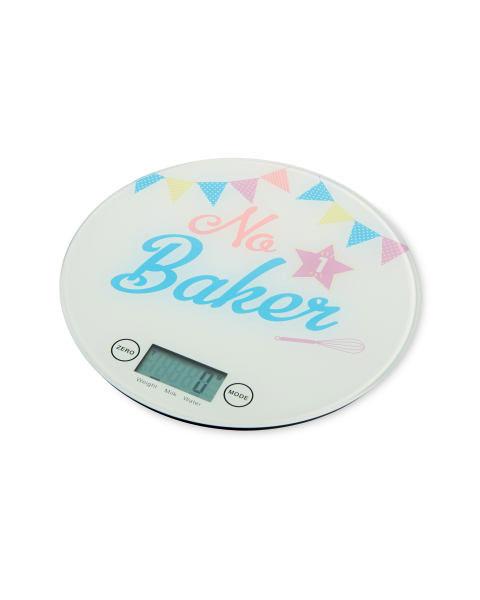 No 1 Baker Flat Kitchen Scale