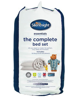 Silentnight the complete bed set
