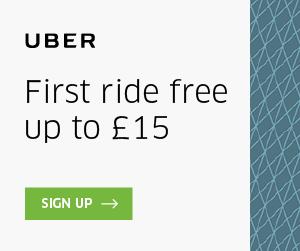 Uber promo code £15 free ride