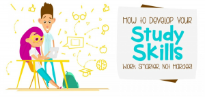 How to develop your study skills – work smarter, not harder [infographic]