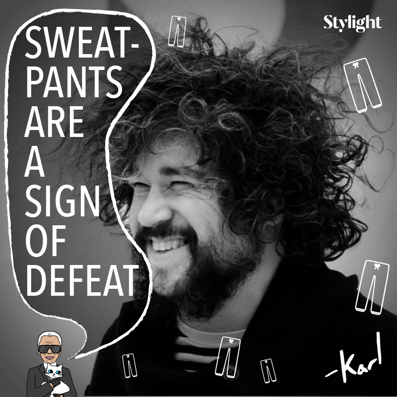 Karlify me – sweatpants quote