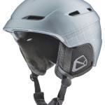 Adult's Silver Ski Helmet L/XL