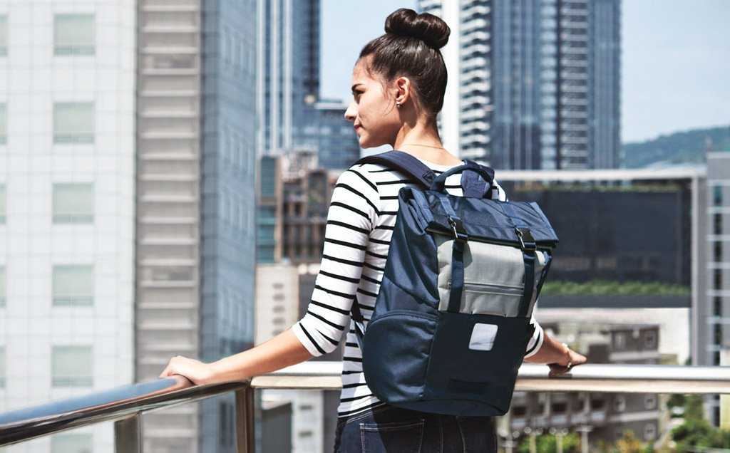 ContemPRO Roll Top Laptop Backpack