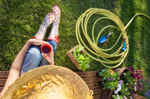 4 simple ways to spruce up the garden at your student digs