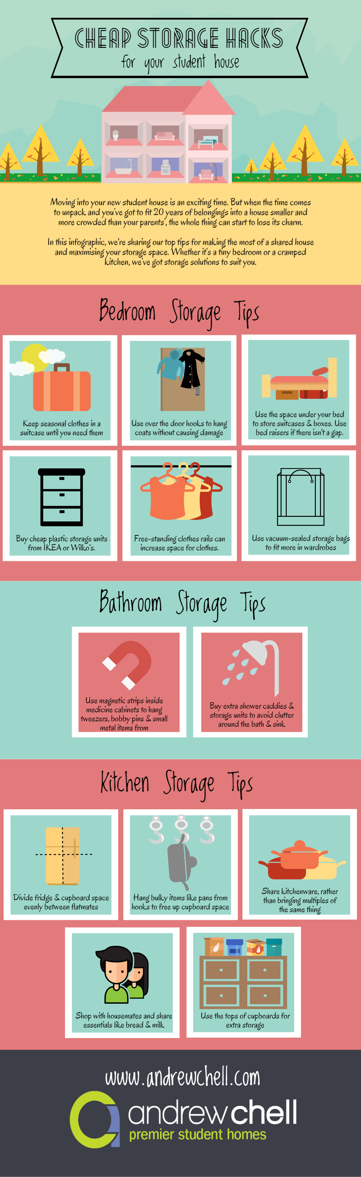 Cheap storage hacks