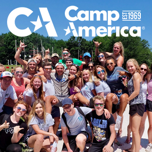 Camp America group photo