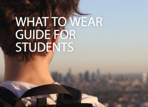 Five reasons why smart students dress to impress