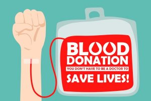 Blood donation – you don't need to be a doctor to save lives [infographic]