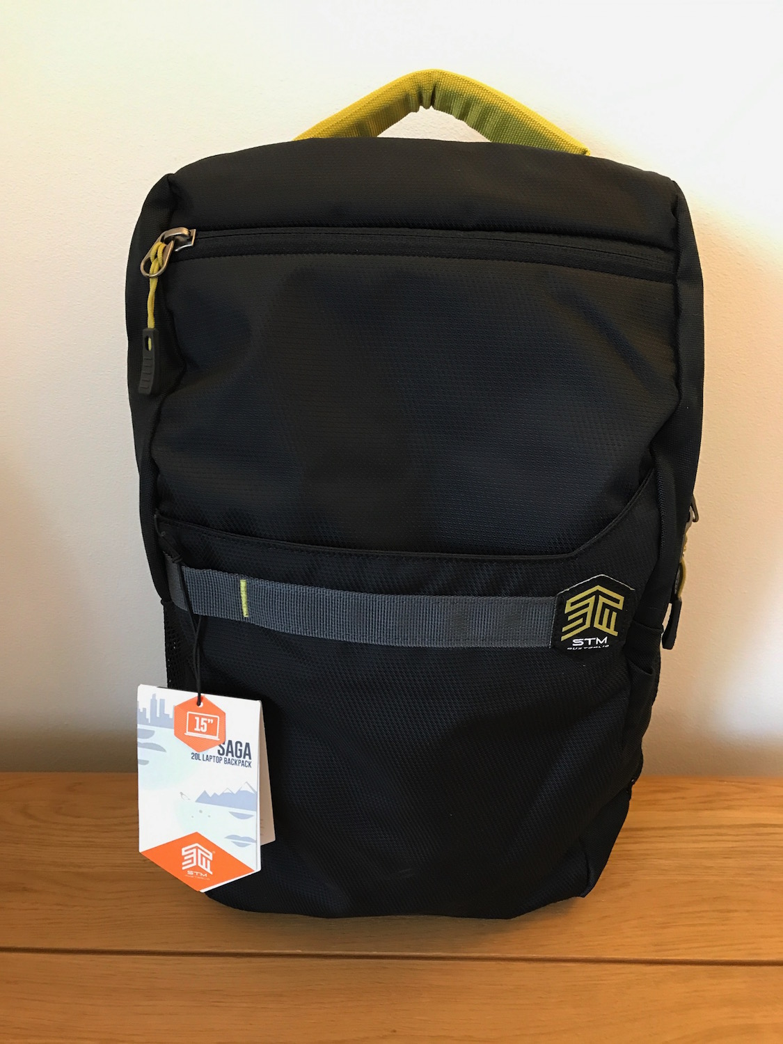STM Saga backpack - front