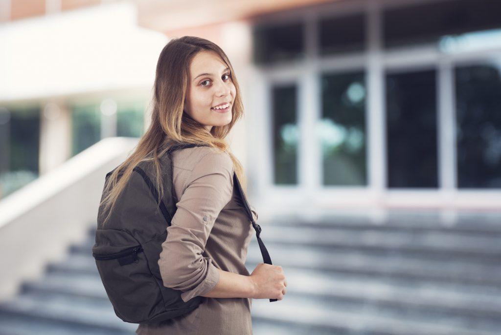 Student at university